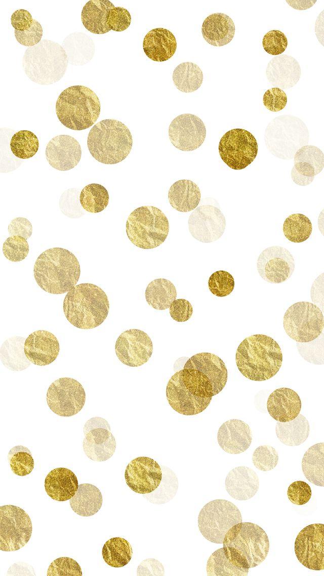 Purple Falling Circles Wallpaper Gold Sparkles Bokeh Free Iphone Background W 163 163 S ️