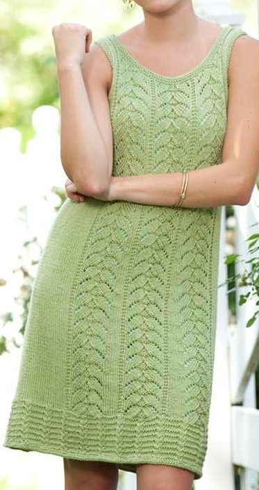 Knitting Pattern For Peridot Dress This Lace Dress Is One Of The