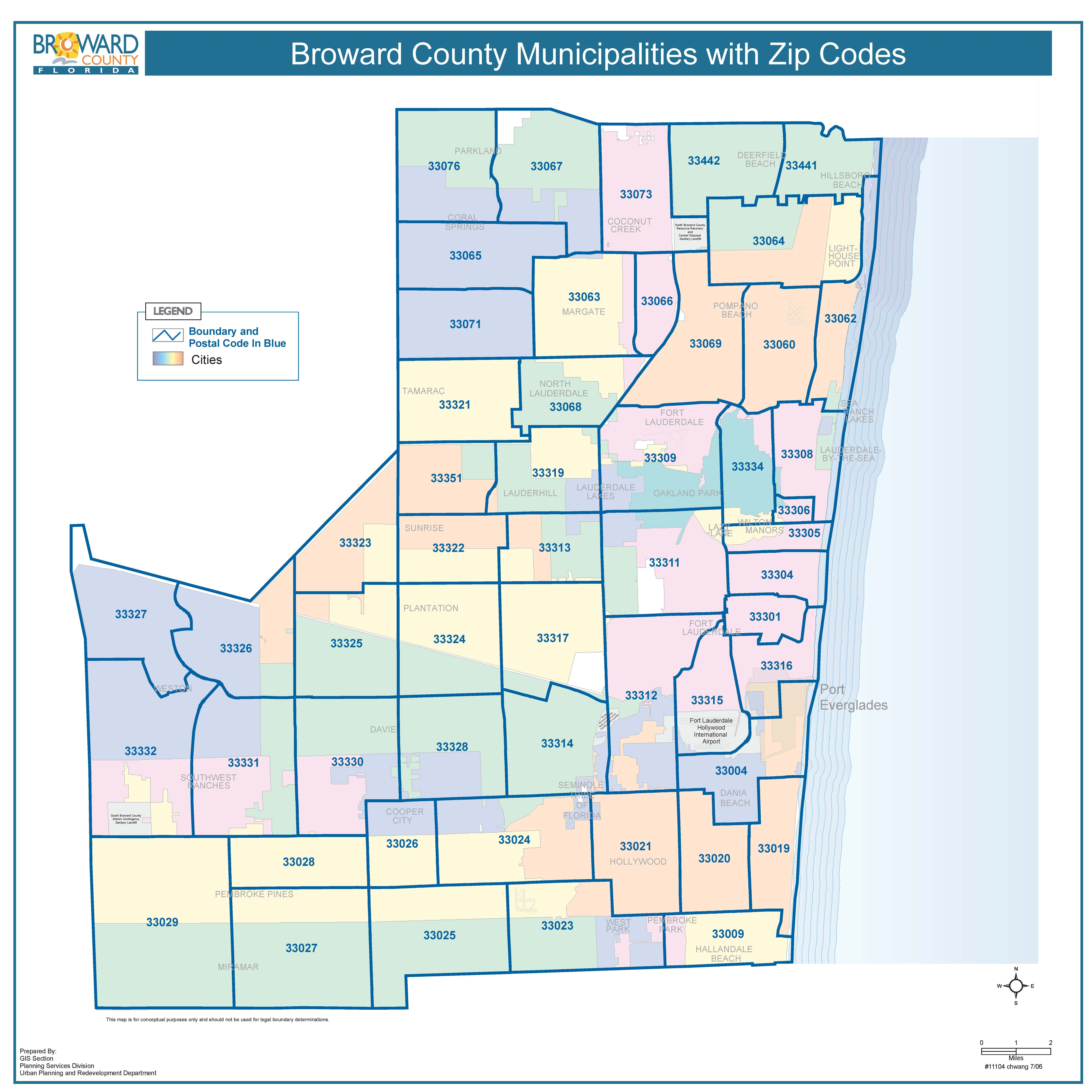 Zip Code Map Miami World Map - Florida map dade city