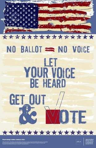 Let Your Voice Be Heard Vote Political Images Student