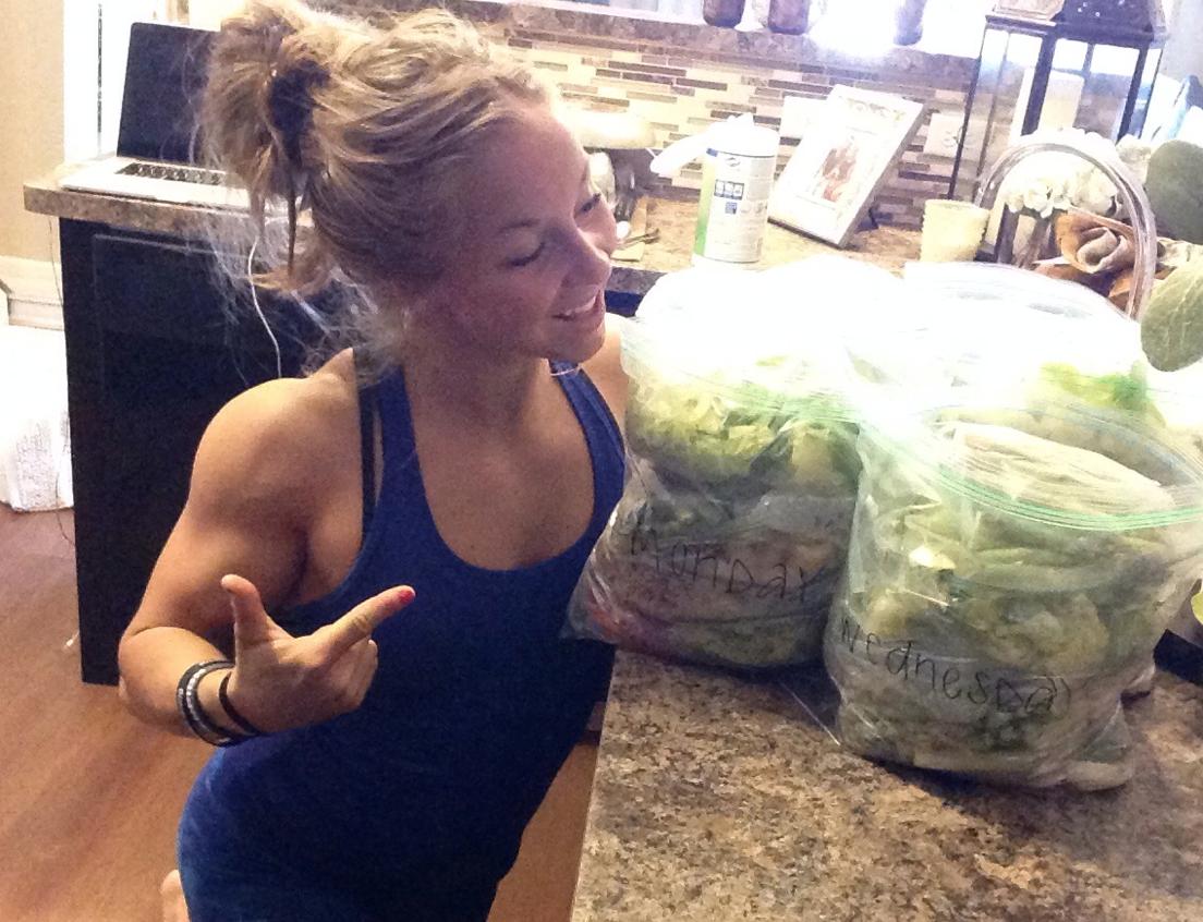 Gallon Bag Food Prep | Fitness | Meal prep, Fitness