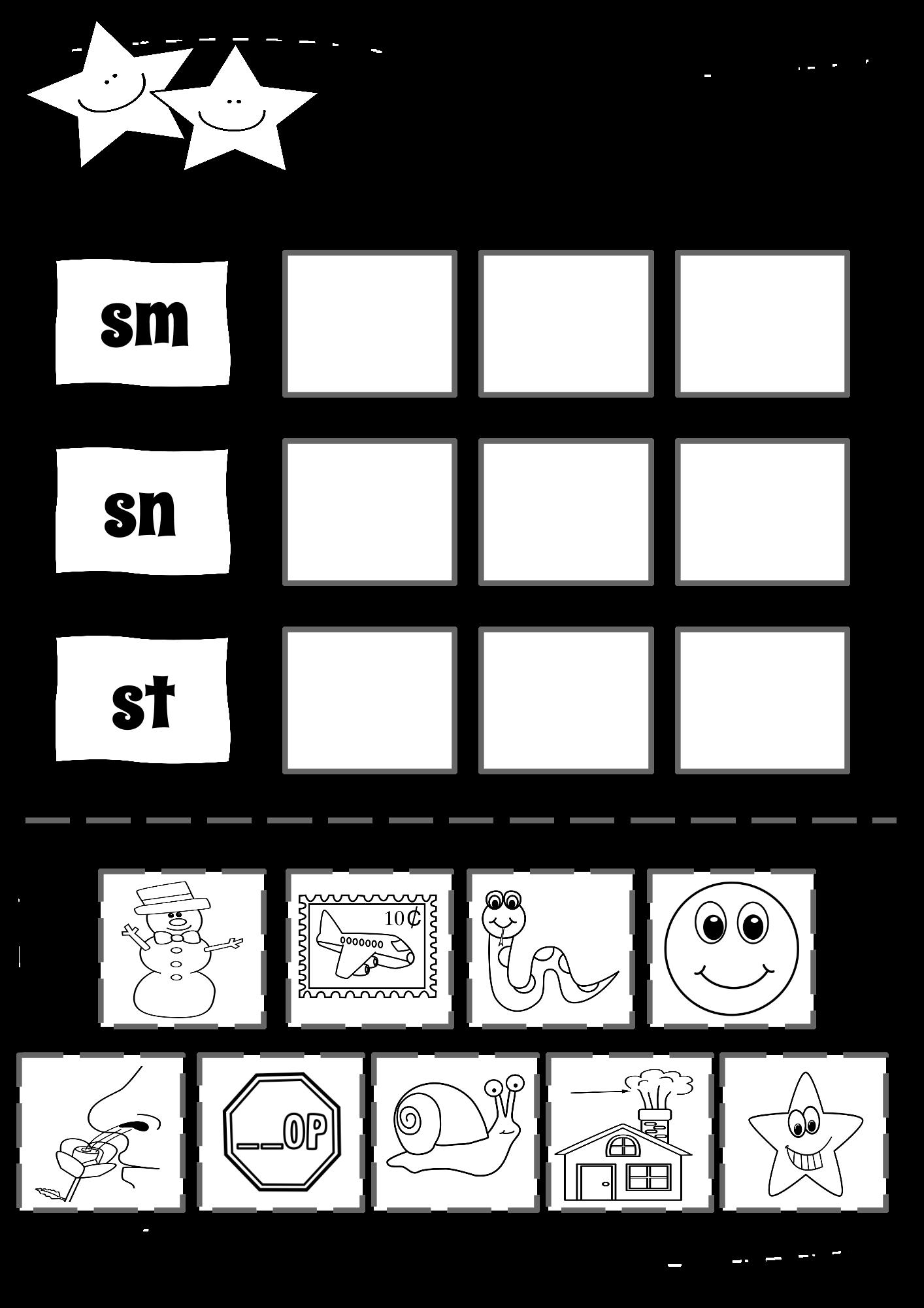 Beginning Blends Amp Short Vowel Word Sorts
