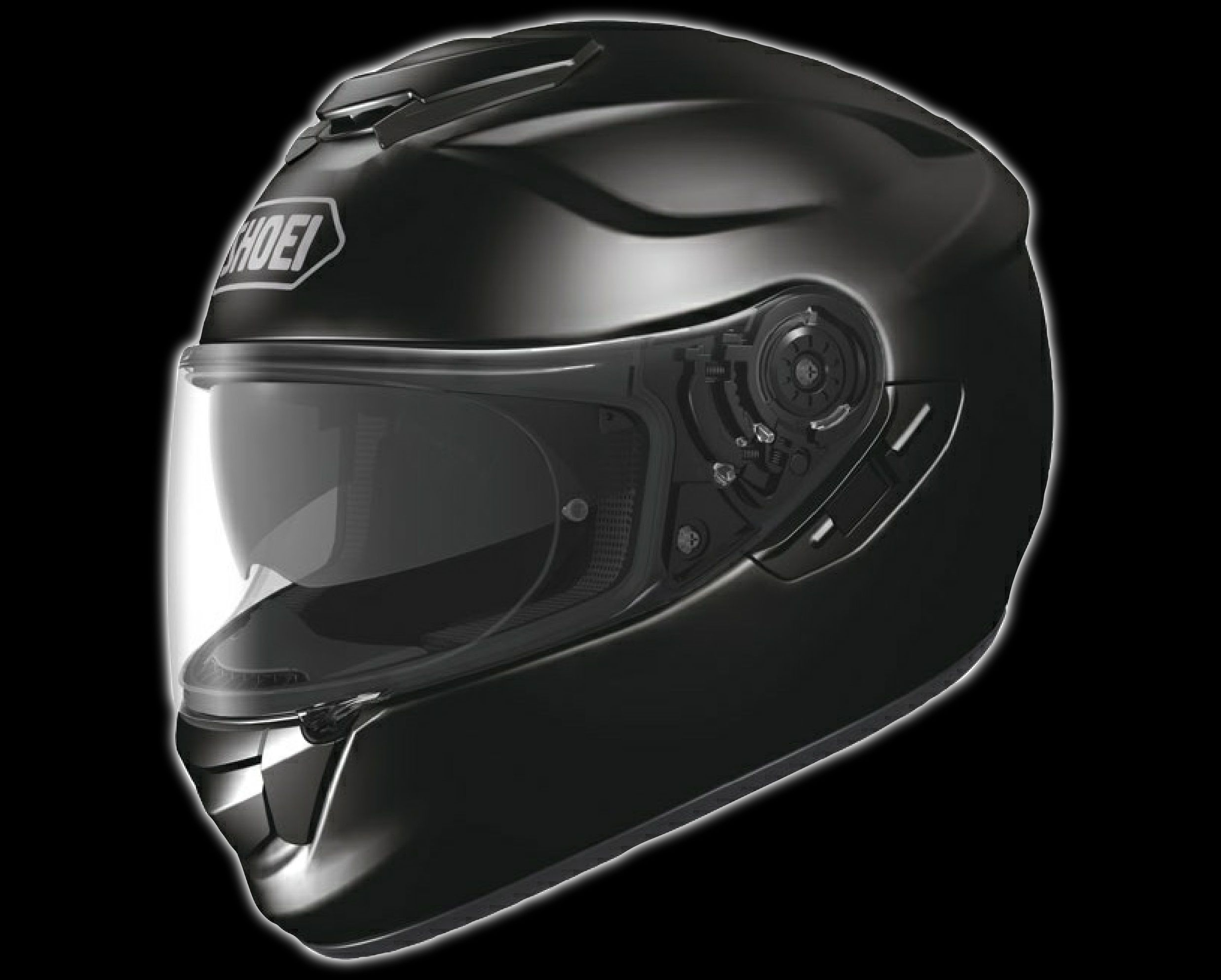 Shoei GTAir Gloss Black Helmet Glossblack Shoei GTAIR