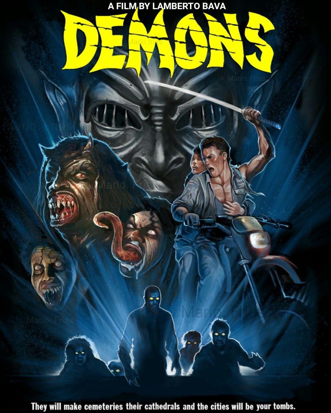 10+ ideas de Demons (1985) | cine de terror, carteles de cine, peliculas de  terror