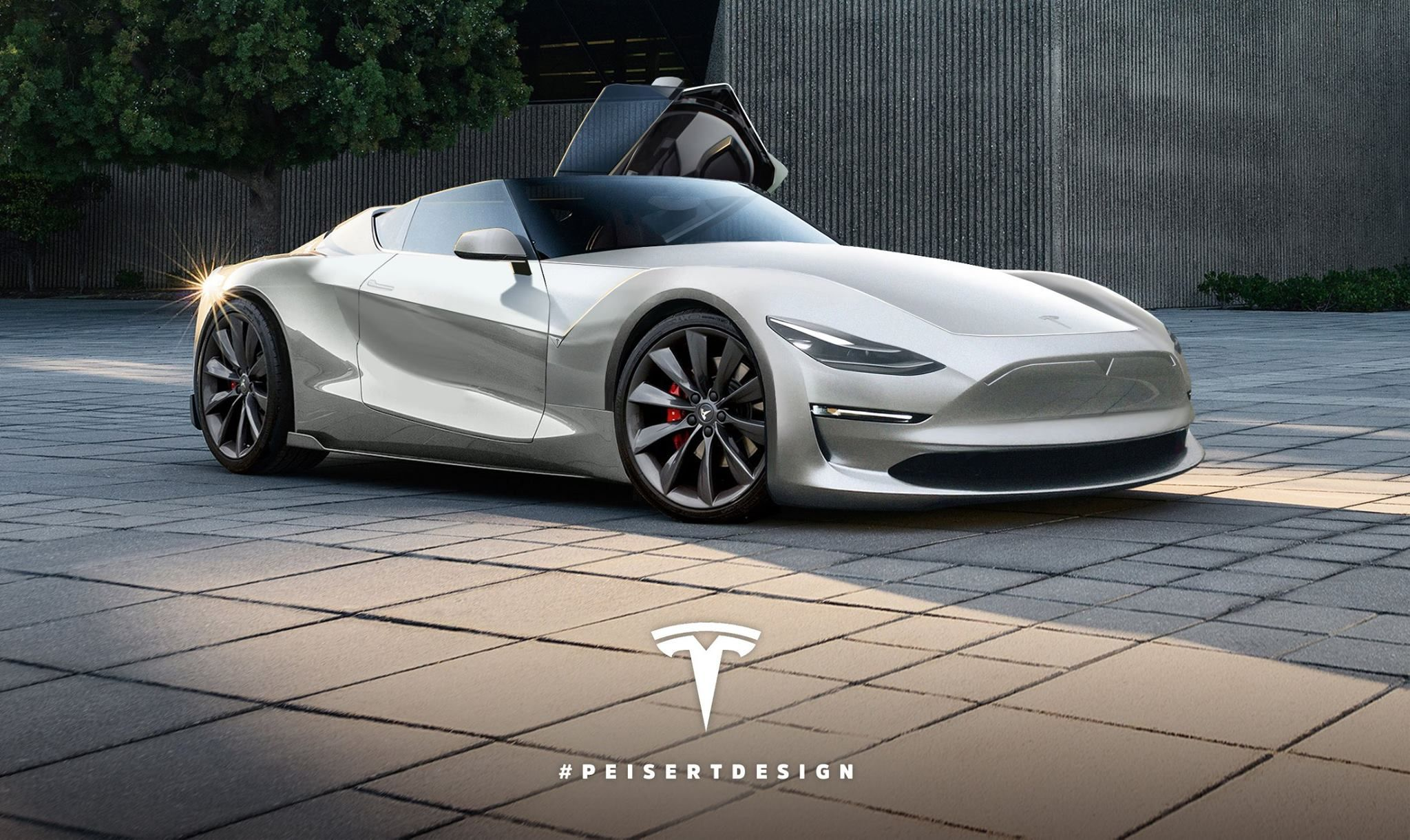 Tesla Semi Revealed 500 Mile Range And 0 60 Mph In 5s Electric Truck Roadster Elon Musk