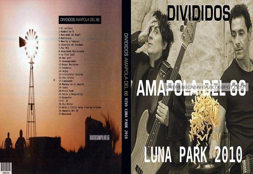 divididos amapola del 66 dvd