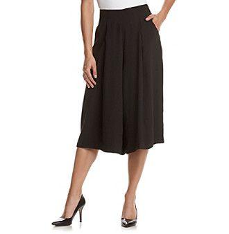 Nanette Nanette Lepore Stretch Crepe Skirt