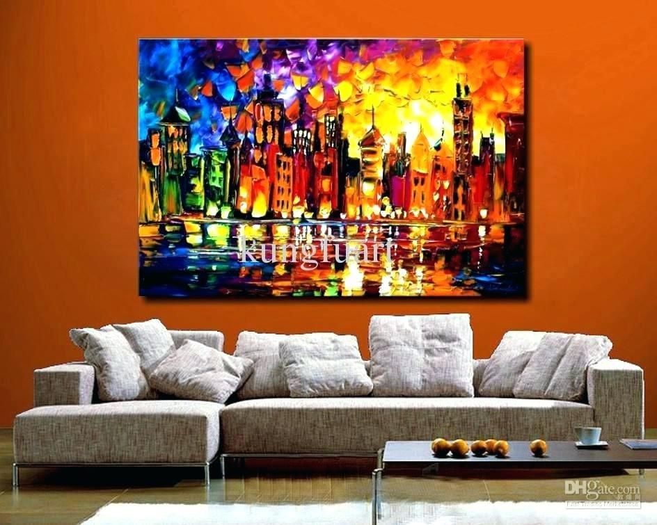 53 Diy Ideas Cool Easy Paintings Canvas Wall Neat Fast Living Room Canvas Painting Big Canvas Art Huge Wall Art