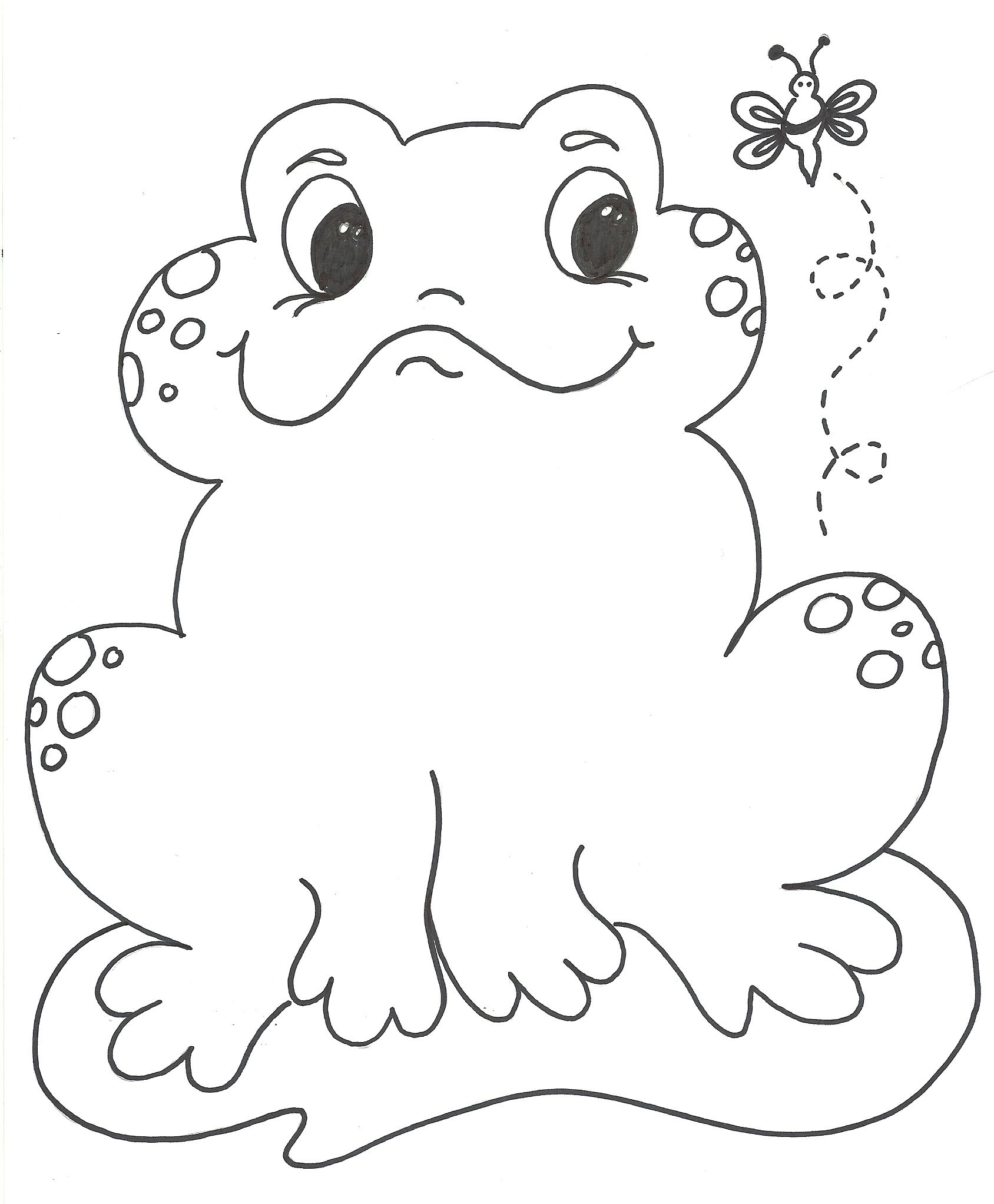 coloring pictures of frogs for kids google search - Free Frog Coloring Pages