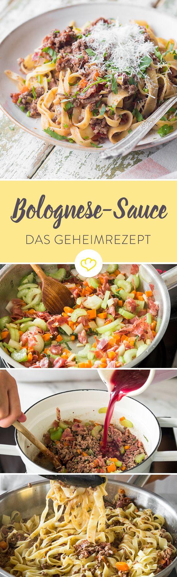 Bolognese Sauce ganz einfach und schnell selber machen #bolognesesauce