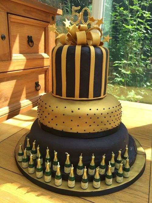 34 Unique 50th Birthday Cake Ideas With Images In 2018 Birthday