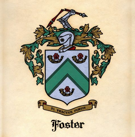 Foster's Coat of Arms  | My Style | The fosters, Coat of