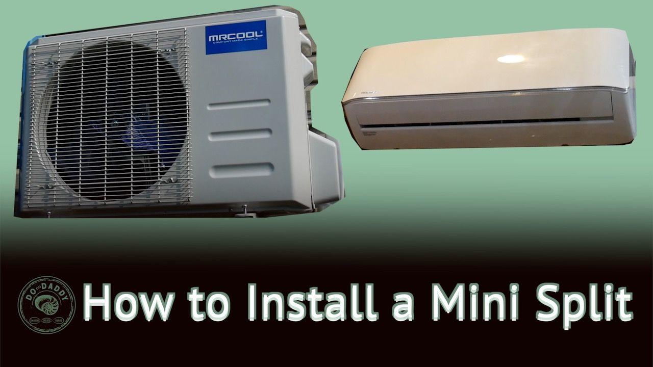 Diy mini split installation heat air units ductless
