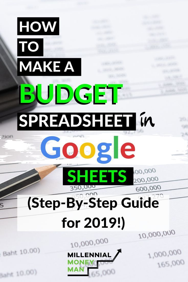 How to Make a Budget Spreadsheet in Google Sheets (StepBy