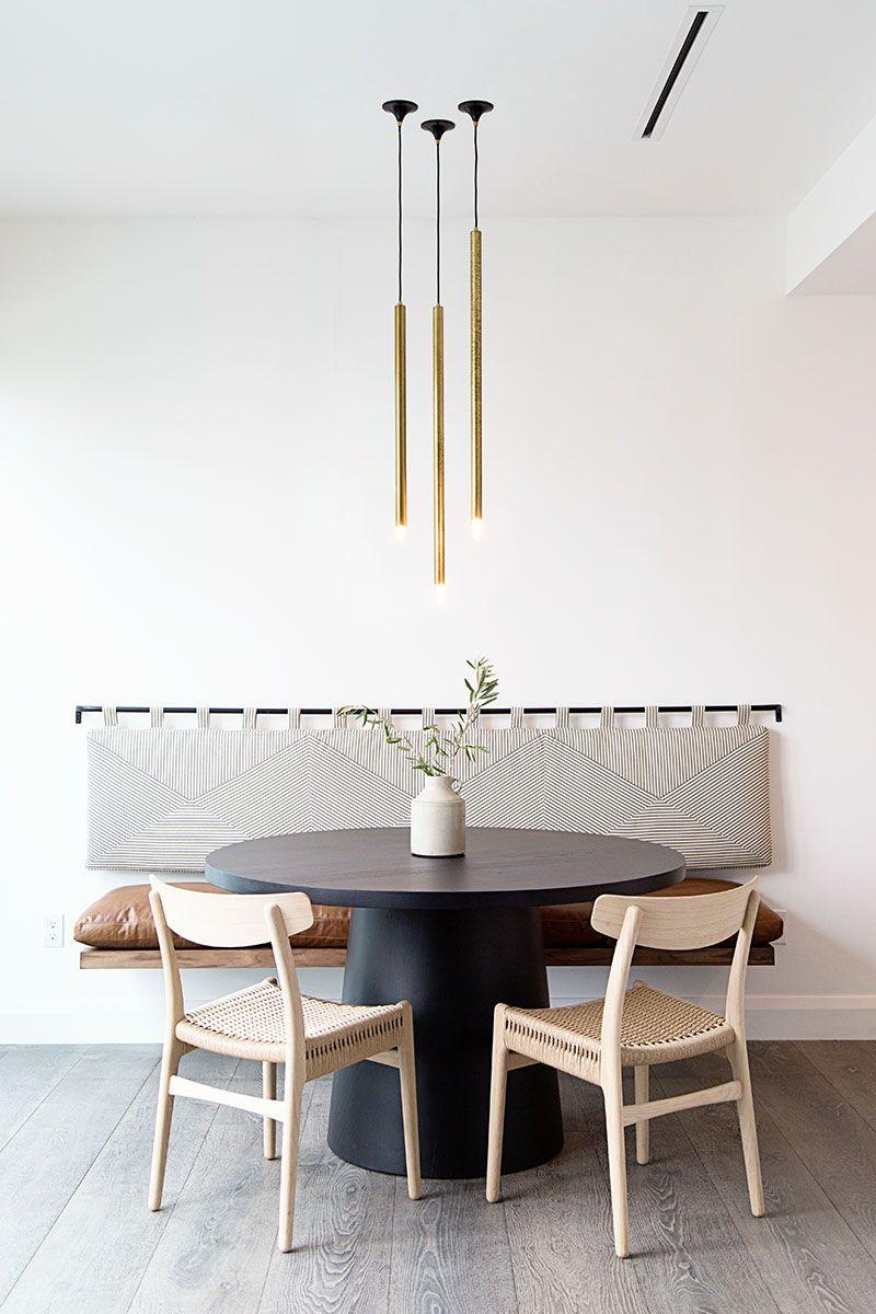 Warm minimalist home in USA