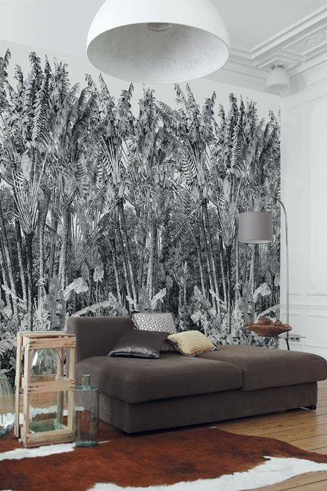 papier peint panoramique arbre du voyageur papiers. Black Bedroom Furniture Sets. Home Design Ideas
