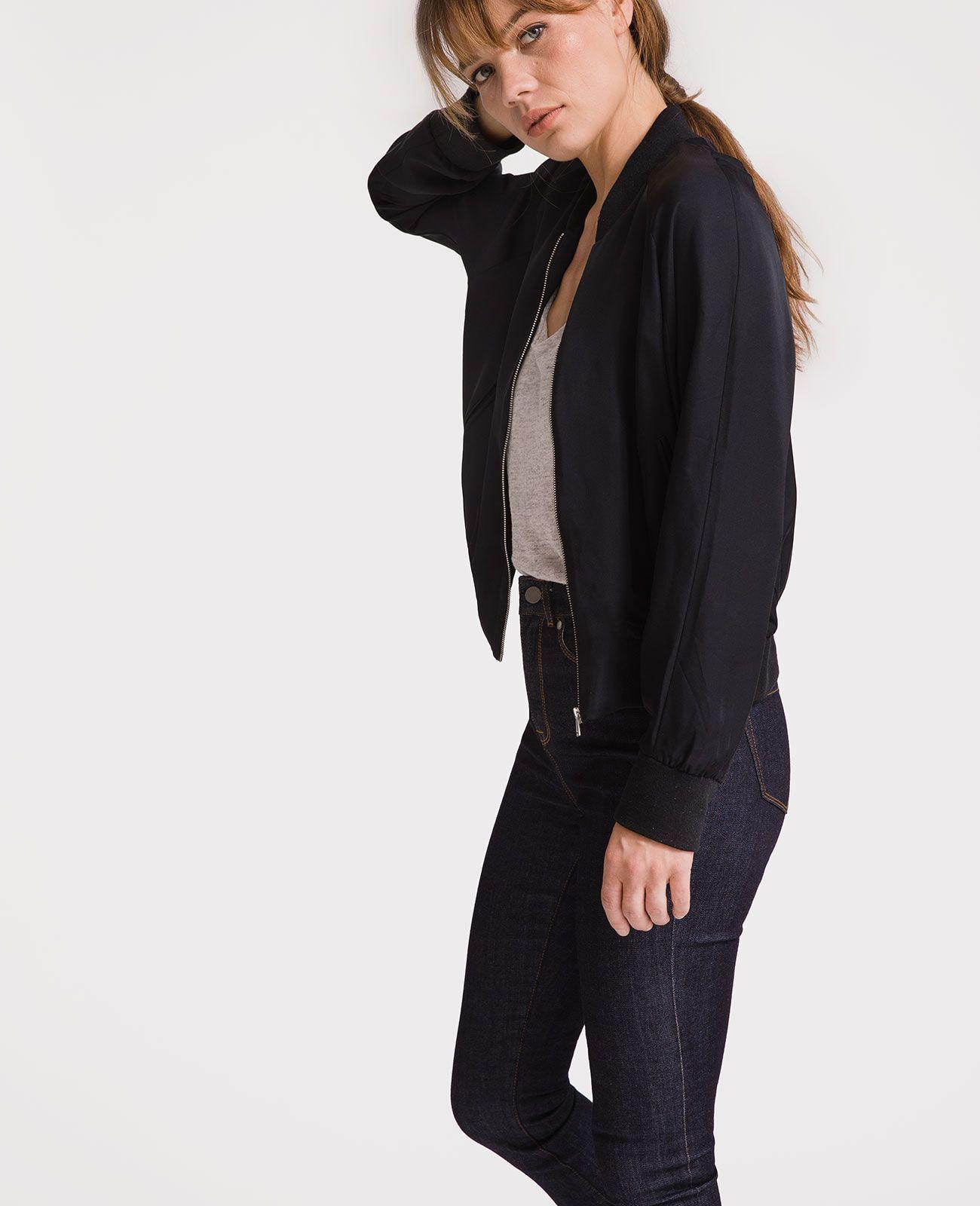 Silk Bomber Style Silk bomber jacket, Silk, Bomber jacket