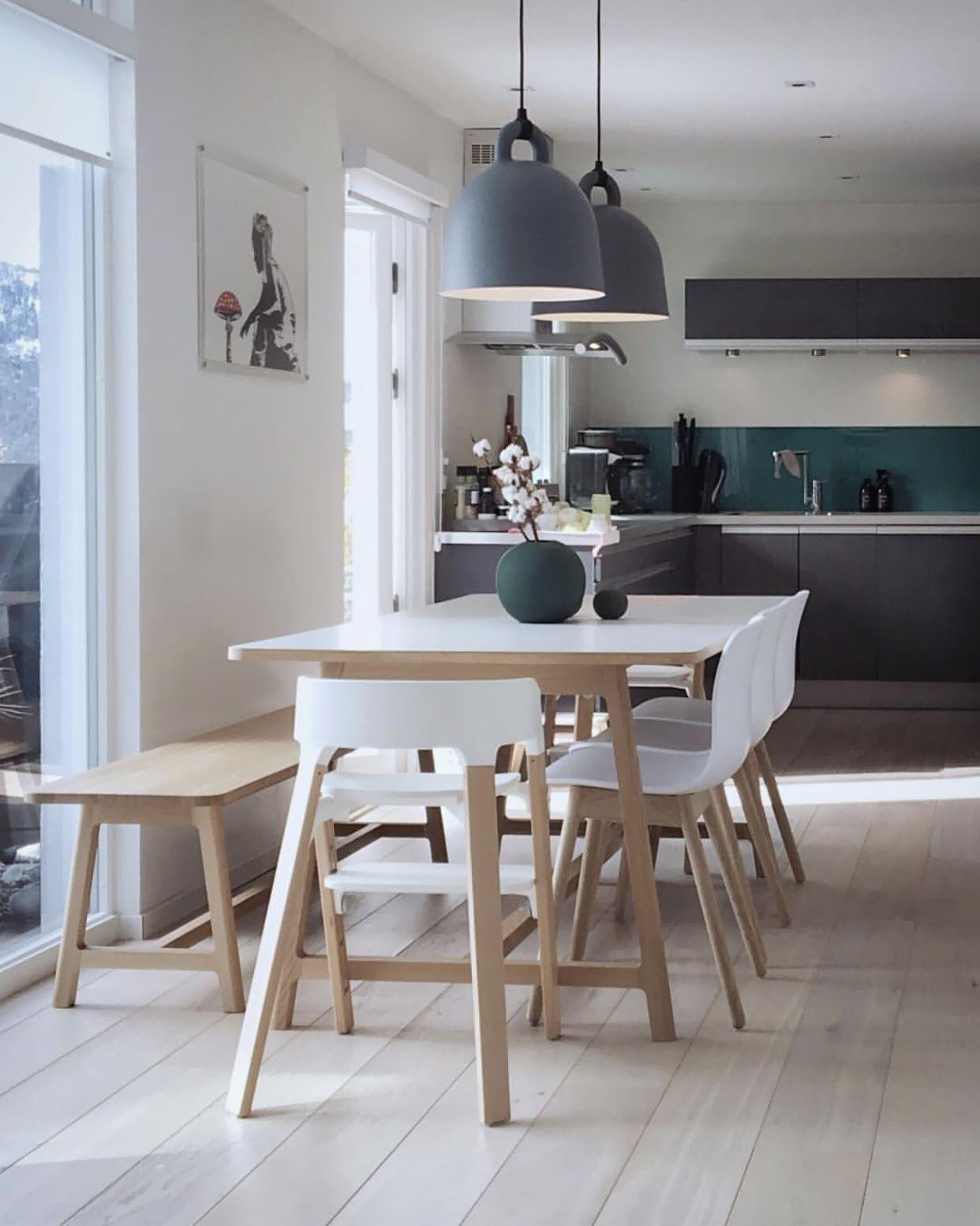 Normann Copenhagen Bell Lamp Dining Rooms In 2019 Beautiful