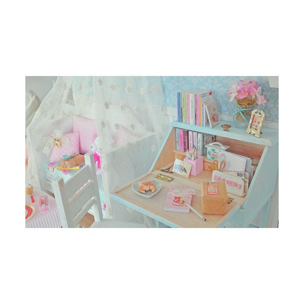 cute as heck ʕ•ᴥ•ʔ found on Polyvore featuring bedroom