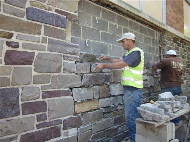 Skilled Bricklayers And Stone Masons Urgently Needed Brick Siding Stone Siding Stucco Repair