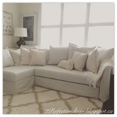 Deciding on a sectional sofa for our small space.. Ikea ...