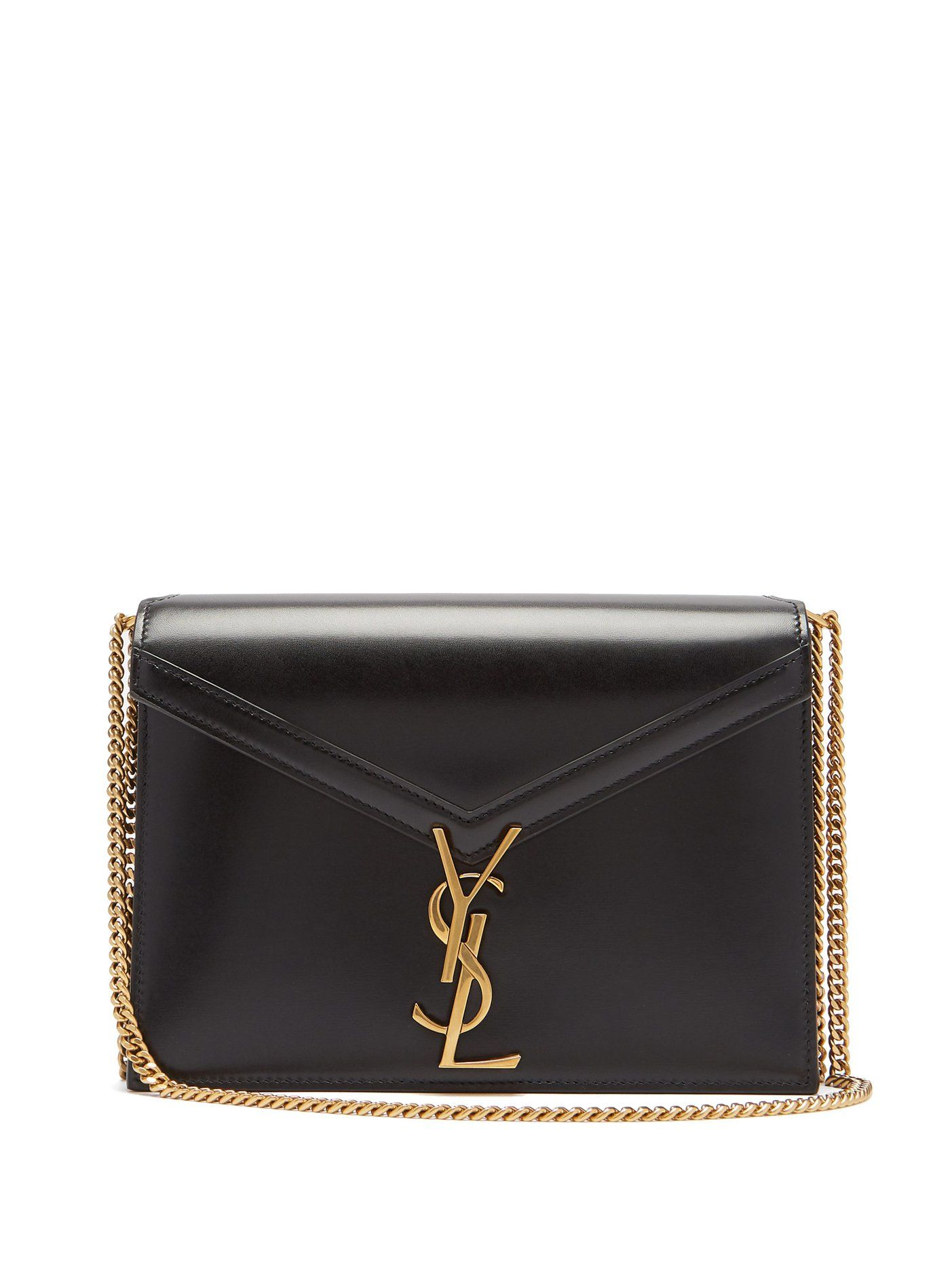 Cassandra monogram leather cross,body bag
