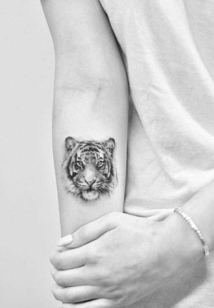 24 Trendy Tattoo Geometric Animal Arm Tatoo Tiger Tattoo Small Tiger Tattoo Animal Tattoos