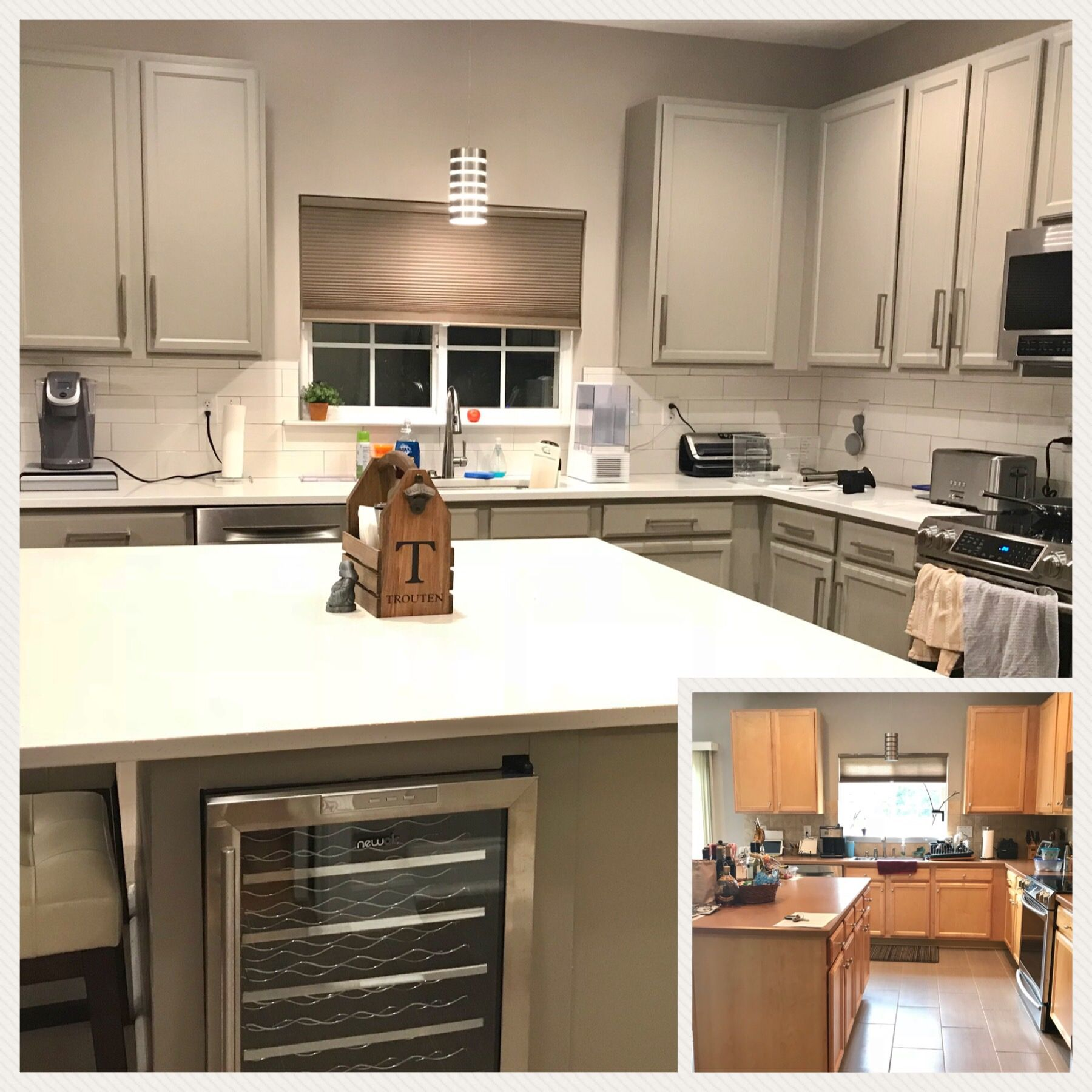 Kitchen Before After Kitchen Cabinet Home