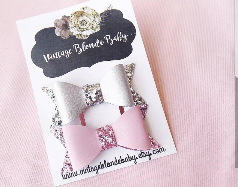 4x6 Bow Cards Vertical Personalized For You With Bow Slits Etsy Business Card Logo Design Diy Hair Accessories Bows