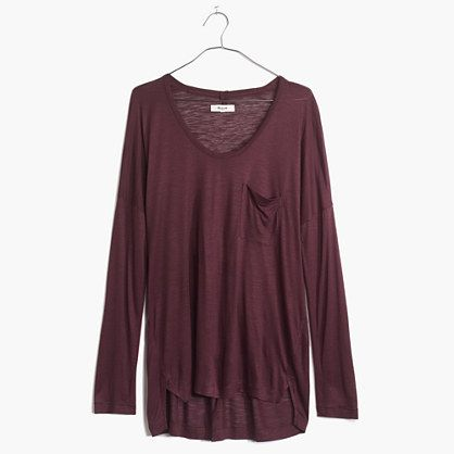 Madewell+-+Scoopneck+Roster+Tee