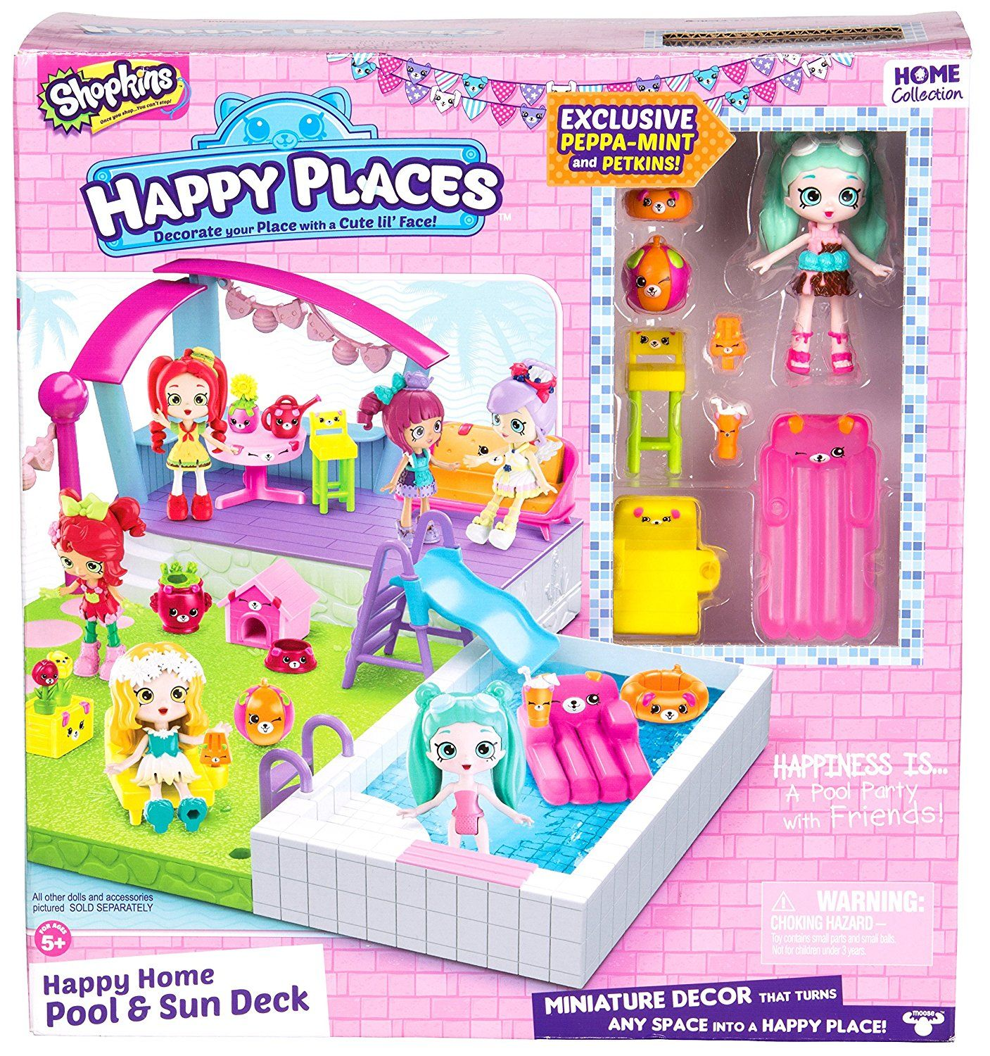 Happy places shopkins happy home pool and sun for Happy playsets