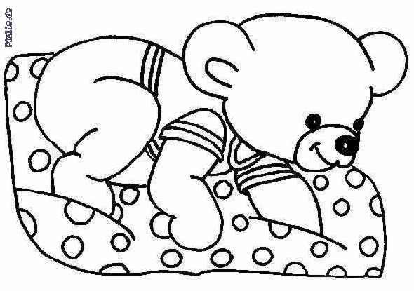Ausmalbilder Teddy Ausmalbilder Für Kinder Kleidung