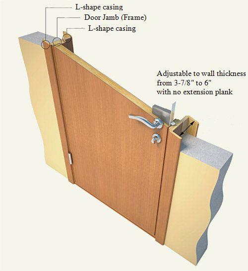 Door Jambs Casing Extension Door Jamb Solid Interior Doors Doors