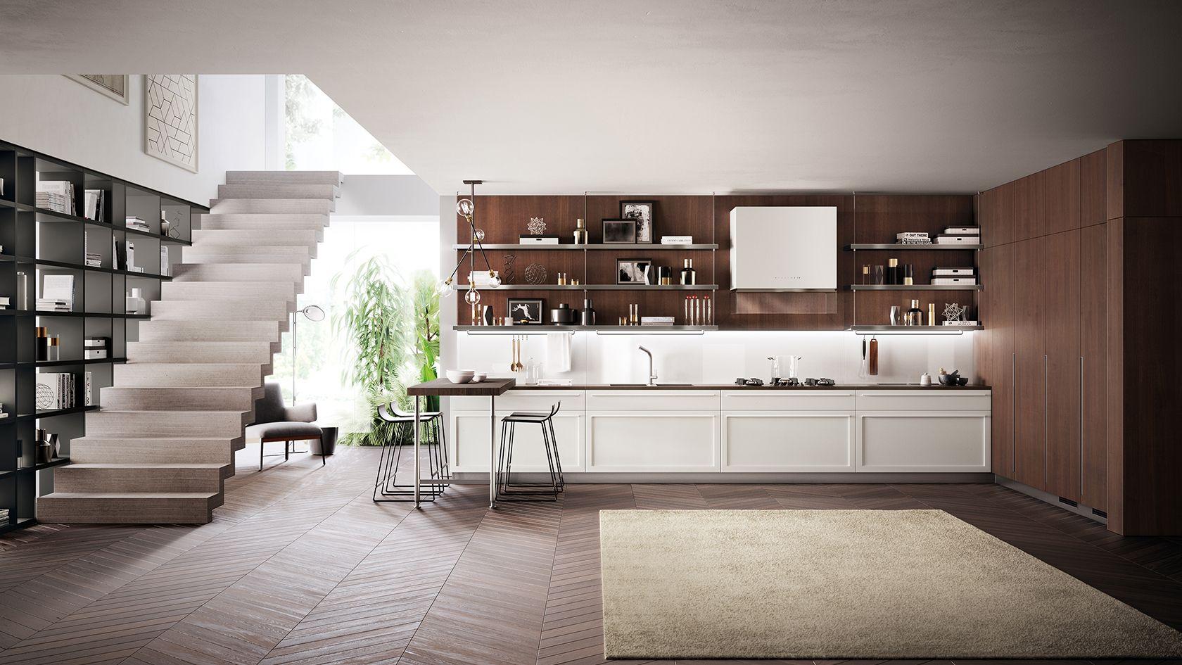 Carattere | SCAVOLINI | Pinterest | Cocinas y Escalera