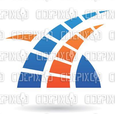 orange and blue logos | blue and orange grass logo icon blue and purple grass logo icon black ...