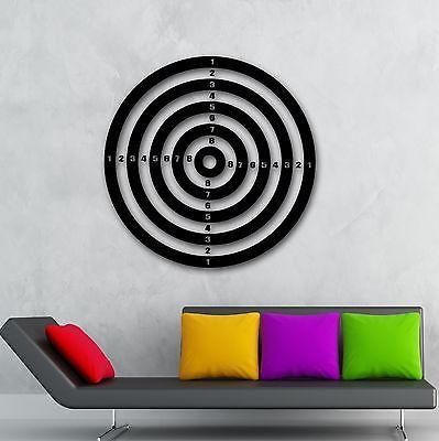 Wall Stickers Vinyl Decal Darts Sport Target Shooting Range Play Room (ig927)