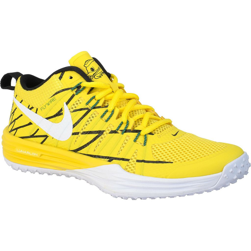 huge selection of 1910d 29cf6 Nike Lunar TR1 NRG (Oregon Ducks) Puddles Yellow Size 10 Mens Running Shoes