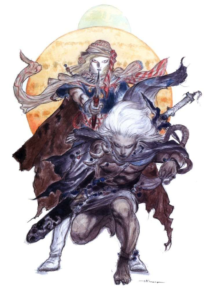 The After Years Video Games Artwork Final Fantasy Iv Final Fantasy Art Final Fantasy