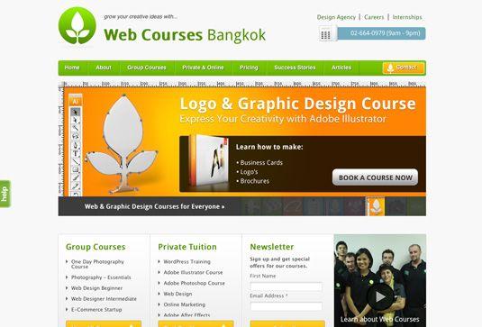 Web Courses Bangkok Course Web Graphic Design Course Wordpress Design