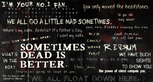 Quotes From Scary Movies Quotesgram Scary Movie 5 Horror Movie Quotes Horror Quotes
