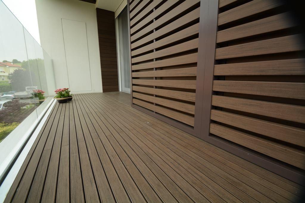 Woodn Industries Outdoor Composite Decking Wood Plastic Composite Plastic Flooring