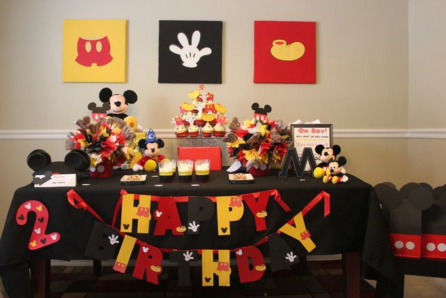 Mickey Mouse Birthday Party Ideas Mickey mouse parties Mouse