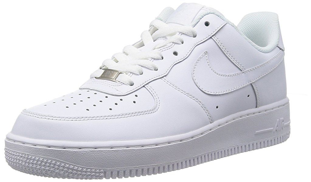 Nike Herren Air Force 1 '07 Sneakers, Weiß, 43 EU 9.5 US