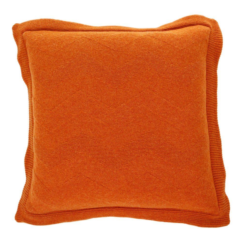 Missoni Home Gravita Oman Leather: Olav Cushion - 59 - 50 X 50cm