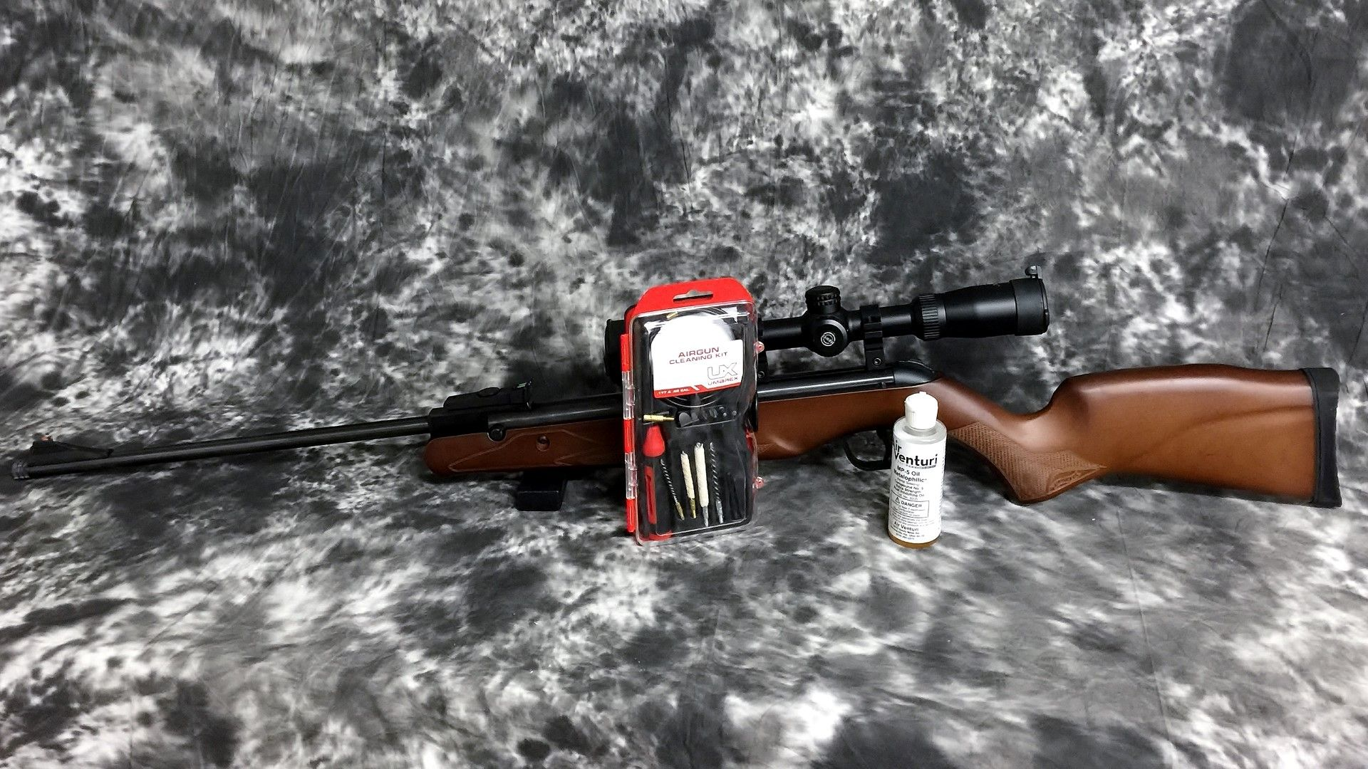 Airgun Maintenance - Walther Terrus, Umarex Cleaning kit, and Air
