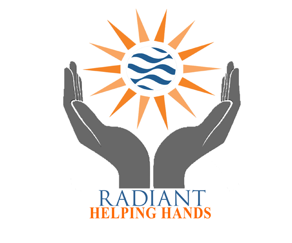 radiant helping hands logo