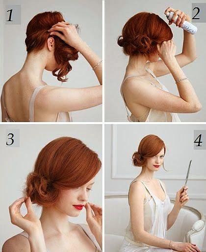 Peinados Sencillos Para Cabello Corto Peinados Poco Cabello Recogido Pelo Corto Peinado De Fiesta Cabello Corto