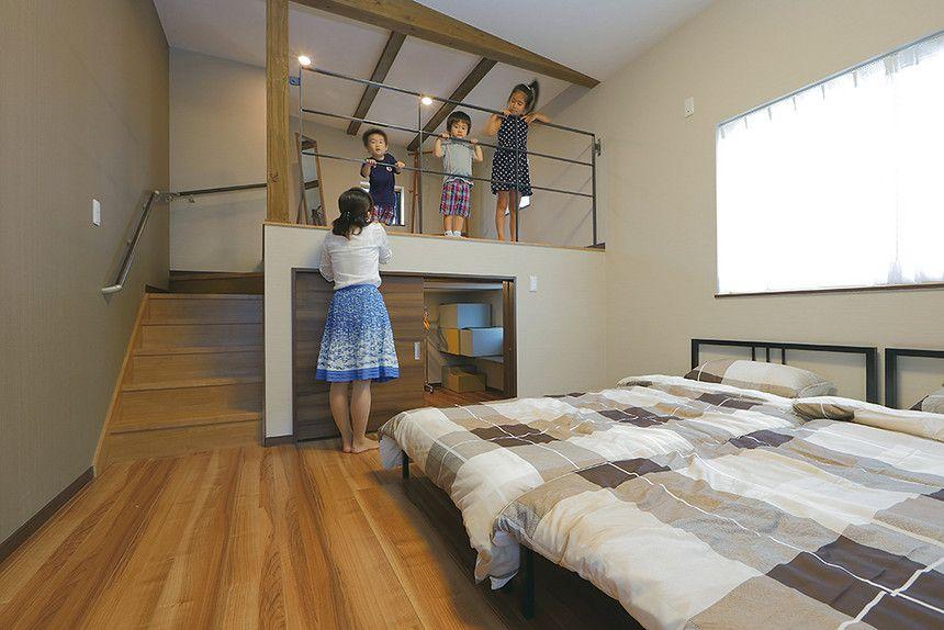 収納革命の家 モデルハウス実例 とやま家づくりネット 富山の住宅実例 建築パートナーガイド ホームウェア 自宅で リビング 間取り
