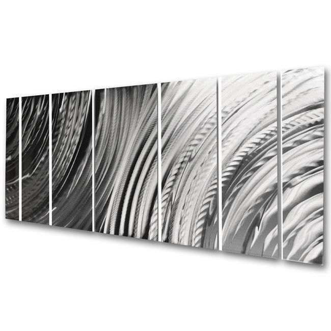 Tranquility silver in length  height more information radiance abstract metal wall art contemporary modern decor also  blooming by helena martin urban rh pinterest