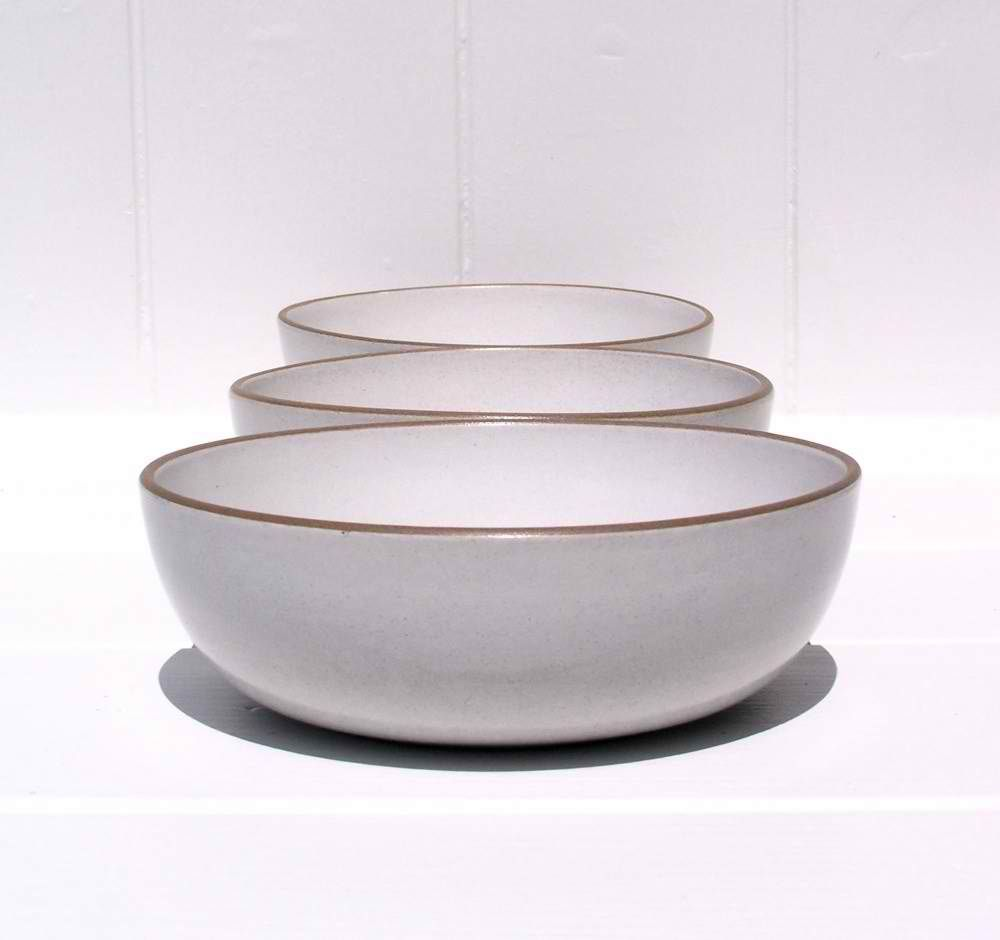 Cereal Bowls | Heath Pottery Cereal Bowl In Opaque White